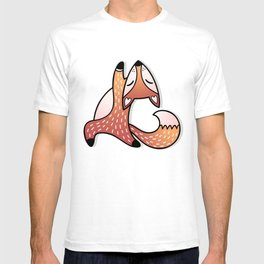 Cute And Fat Fox T-shirt