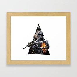 callofduty Framed Art Print