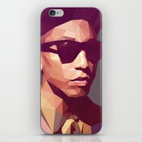 hip hop iPhone & iPod Skins featuring Hip hop poly by Breno Bitencourt