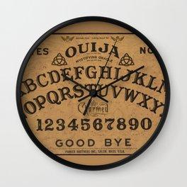 Charmed Ouija Board Wall Clock
