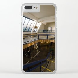 Prague - SpaceStation (Metro station|Vltavska) Clear iPhone Case