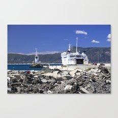 Corfu Ferry Canvas Print