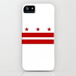 Flag of Washington D.C. iPhone Case