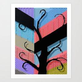 Tree P3 Art Print