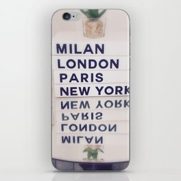 Fashion Capitals iPhone Skin