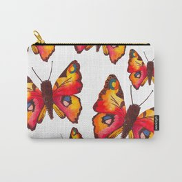 Peacock Butterflies Carry-All Pouch