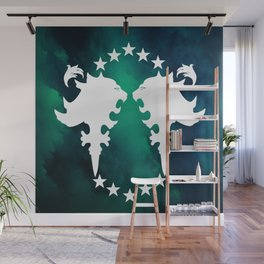Dreamers Club Dueling Lions Wall Mural
