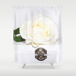 Secret Rose Shower Curtain