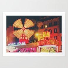 a Parisian icon ... Art Print