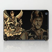 heavy metal iPad Cases featuring Heavy Metal Daryl by Tracey Gurney
