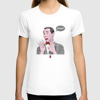 pee wee T-shirts featuring Pee Wee Herman #1 by Christian G. Marra