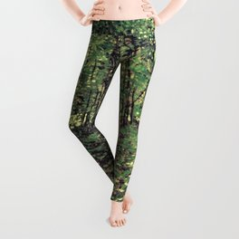 Trees and Undergrowth Leggings