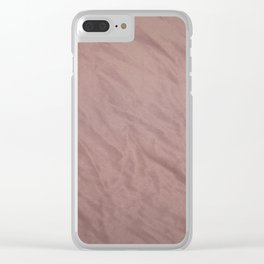 Tulle, lavender Clear iPhone Case