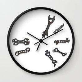 Bike First Aid Repair Kit Wall Clock