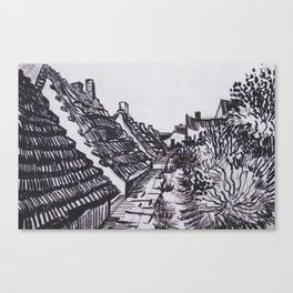 Street in Saintes-Maries by Vincent van Gogh Canvas Print