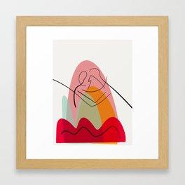 Abstract Comp. 0017 Framed Art Print