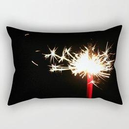 Single Sparkler Rectangular Pillow
