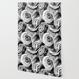 Black and White Roses Wallpaper