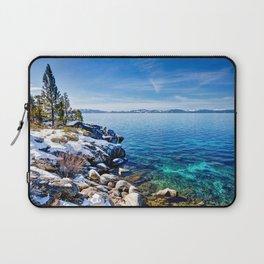 Photos Nevada USA Lake Tahoe Nature Winter Sky Sce Laptop Sleeve