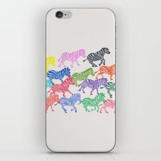 Rainbow Herd iPhone & iPod Skin