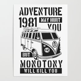 adventure may hurt you Poster