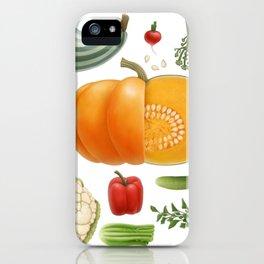 Vegan set 1 iPhone Case