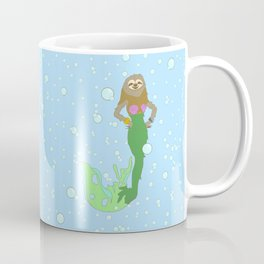 Sloth Mermaid Coffee Mug