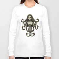 medusa Long Sleeve T-shirts featuring Medusa by Freeminds