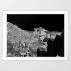 East Hill Cliff Railway Art Print