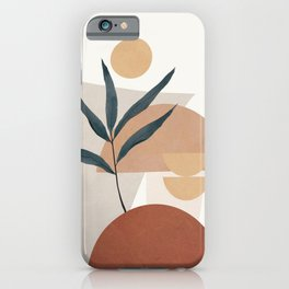 Shapes and Branches 01 iPhone Case