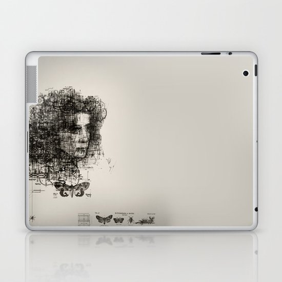 involuntary dilation of the iris Laptop & iPad Skin