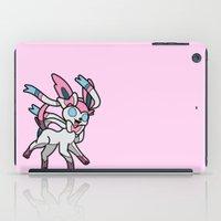 sylveon iPad Cases featuring Fairy by InsertCreativeTitle