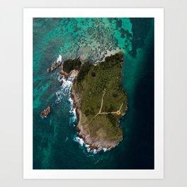 La Farola Island Art Print