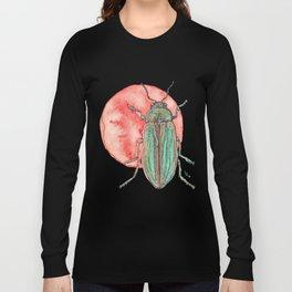 Iridescent Beetle Long Sleeve T-shirt