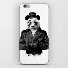 Rorschach Panda iPhone Skin