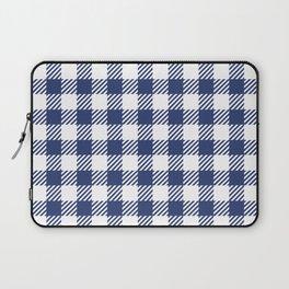 Blue Vichy Laptop Sleeve