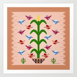 Gift of Corn Art Print