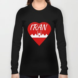 Iran Long Sleeve T-shirt