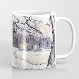 Moscow. Russia. Patriarshie pounds. Coffee Mug
