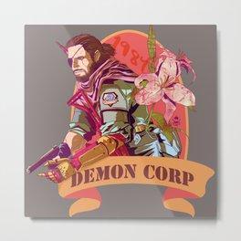 84' demon corp Metal Print