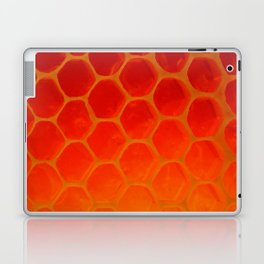Honeycomb Gold - The Bee's Gift Laptop & iPad Skin