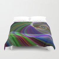 imagination Duvet Covers featuring Imagination by David Zydd