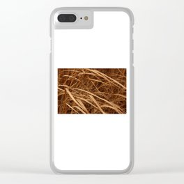 Into Winter Clear iPhone Case