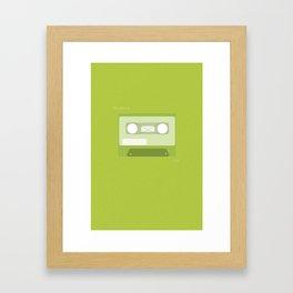The Perks of Being a Wallflower Minimalist Poster (Green) Framed Art Print