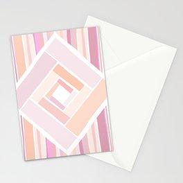 Rosy Diamond Stationery Cards