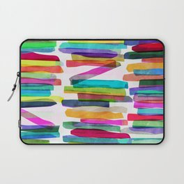 Colorful Stripes 5 Laptop Sleeve