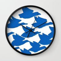 evolution Wall Clocks featuring Evolution by Esther Knox