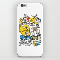 simpsons iPhone & iPod Skins featuring Simpsons by Ray Kane