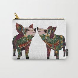 pig love white Carry-All Pouch
