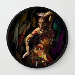 Exotic dancer Wall Clock